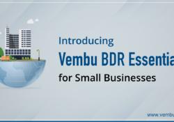Küçük İşletmeler için Vembu BDR Essentials