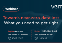 Towards near-zero data loss – Vembu