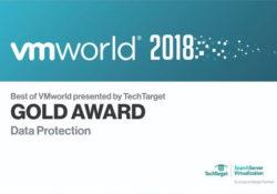"""NAKIVO Veri Koruması için """"VMworld 2018'in En İyisi"""" Altın Ödülünü Kazandı…"""
