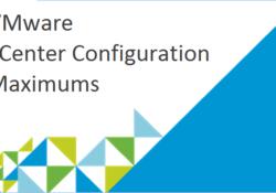VMware vSphere ESX ve vCenter Yapılandırma Maksimumları